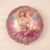 Rund Barbie Fairytopia Rosa